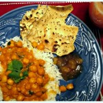 Meatless Mondays: Curry Chickpeas with Basmati Rice