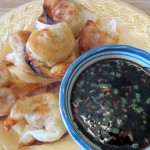Spicy Pork Wontons with Dipping Sauce