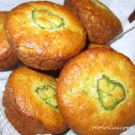 St Patrick's Day Jalapeno and Cheddar Cornbread Muffins