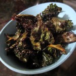 Spicy Sriracha Kale Chips Recipe