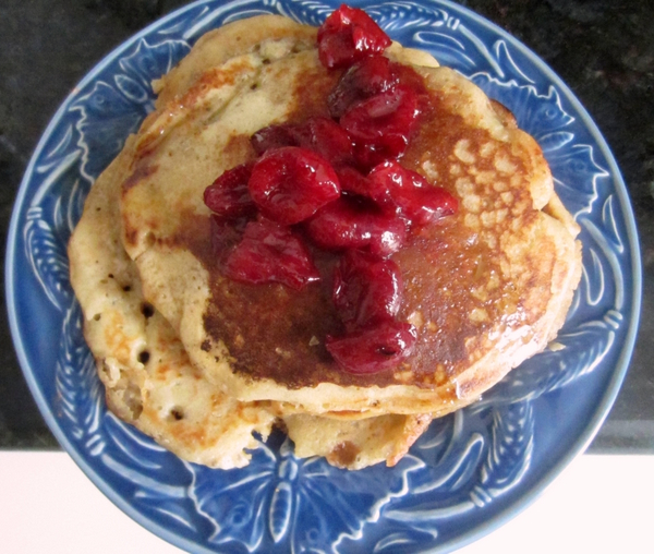 pancakes-cherry-compote