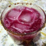 Prickly Pear Margarita for Valentine's Day
