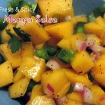 Cool and refreshing Spicy Mango Salsa Recipe